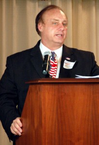 Jon Moseley speaking at Freedom Leadership Conference on November 11, 2011