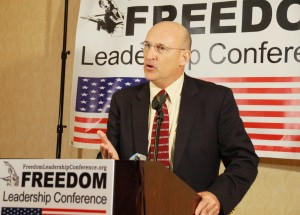 Lt. Colonel Tim Hanigan, USMC (Ret.) gives advance preview of Uniformed Services League sponsored conference
