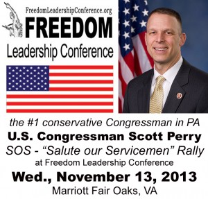 Congressman Scott Perry to be keynote speaker at November 13 Conference