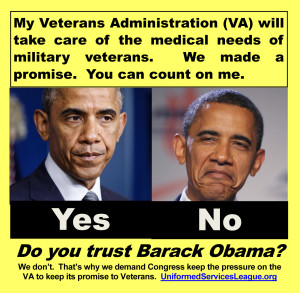 "Uniformed Services League will ask ""Do you trust Barack Obama"" at the May 20 Freedom Leadership Conference it sponsors"