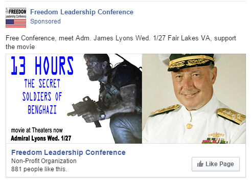 This ad will run the Monday and Tuesday before the Wed. 1/27 conference thanks to the sponsorship of Uniformed Services League and GrasstopsUSA.