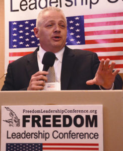 Candidate for Virginia Governor Denver Riggleman addresses Freedom Leadership Conference