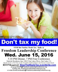 "New social media campaign to feature photo of student ""Pizza Girl"" and headline ""Don't tax my food!"" to help promote attendance at 6/15 Conference."