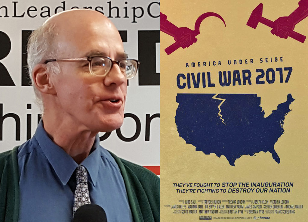 "Dr. Steven Allen appears in the new documentary movie, ""America Under Siege: Civil War 2017"" that was just released at CPAC, will tell us about it at the Thursday 3/16 Freedom Leadership Conference."