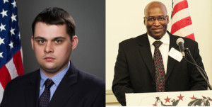 Can Caldwell (L) for Concerned Veterans for America and Dr. Johnny L. Simpson, Jr. (R) for Uniformed Services League, headline May 24 conference their organizations are sponsoring.