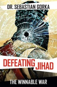 Dr. Sebastian Gorka is the author of the new book, Defeating Jihad: The Winnable War, which will be available for autographing at the 9/14/16 Freedom Leadership Conference