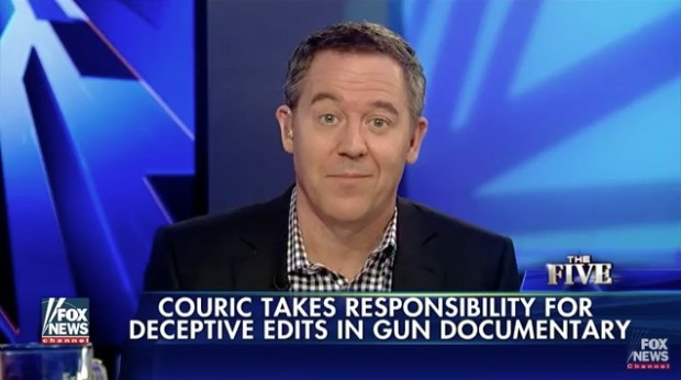 Greg Gutfeld blasts Katie Couric's deceptive documentary against gun advocate Philip Van Cleave and leaders of Virginia Citizens Defense League, to sponsor Oct. 12 Freedom Leadership Conference