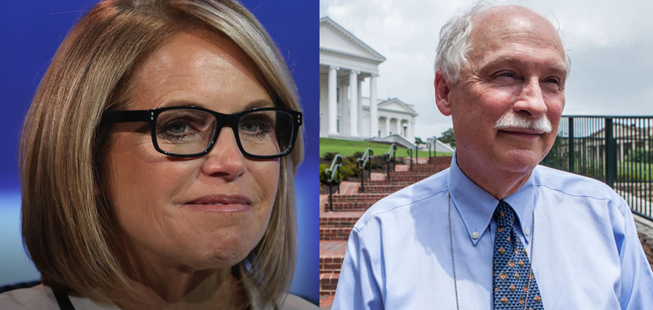 "Philip Van Cleave and his Virginia Citizens Defense League filed defamation suit against TV ""personality"" Katie Couric in federal court several weeks ago; to speak at Freedom Leadership Conference Wed. Oct. 12, 7 to 9 PM"